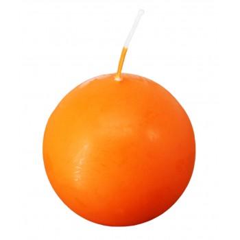 Свеча Шар оранжевый, 55 мм