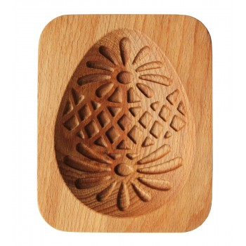 Форма для пряника (пряничная доска) Buken «Яйцо пасхальное узорное»
