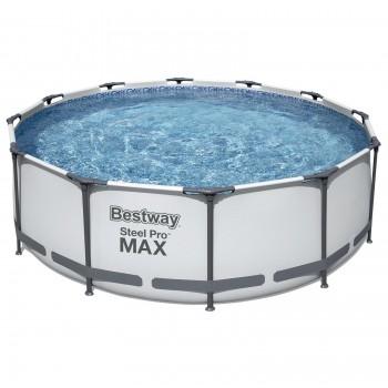 Бассейн Bestway 56418 каркасный, 366х100см, 9150 л, фильтр-насос 2006 л/ч, лестница
