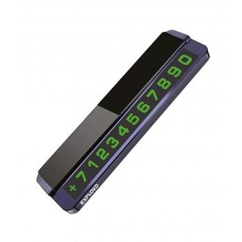 Автовизитка (табличка с номером телефона) Exployd Sonder EX-H-793 черная