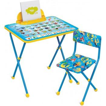 Комплект детской мебели Ника КП2/9 с азбукой