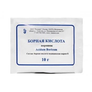 Борная кислота порошок, дезинфицирующее средство 10 г пакет x 5 шт