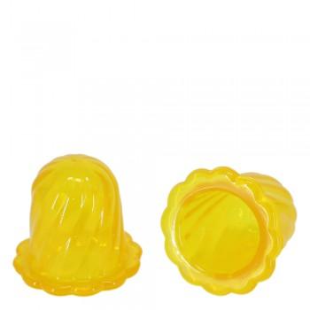 Массажер ТЮЛЬПАН для чувствительной кожи, желтый (2 шт в коробке)