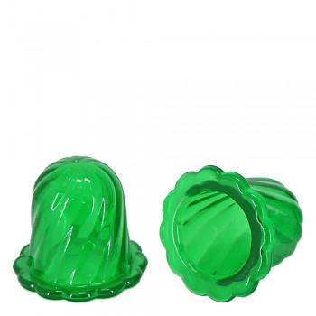 Массажер ТЮЛЬПАН для чувствительной кожи, зеленый (2 шт в коробке)