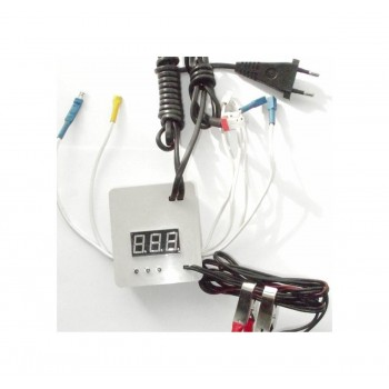 Терморегулятор для инкубатора цифровой с гигрометром (полный автомат) 220/12 В (к инкубаторам Несушка 67вг, 69вг)