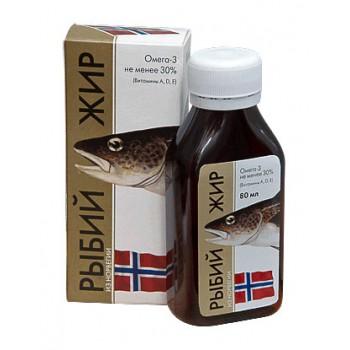 Рыбий жир из Норвегии 80 мл