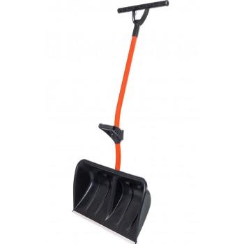 Лопата-скрепер для снега Стандарт Ратник с ручкой силы