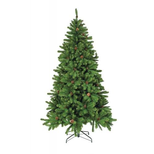 Искусственная елка ИМПЕРАТРИЦА 185 см с шишками зеленая Triumph Tree