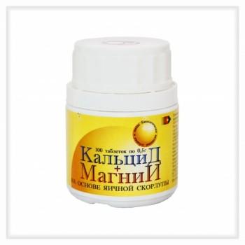 Кальцид+магний 100 таб х 0,5 г (витаминный комплекс)