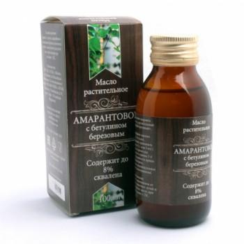 Масло Амарантовое с бетулином березовым 100 мл Organic