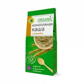 Каша Конопляная с ячменем Organic 250г 15 порций