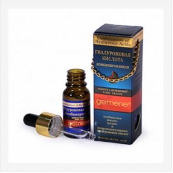 Гиалуроновая кислота Gemene комбинированная, для восстановления эластичности, наполненности и увлажненности кожи 10 мл