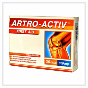 Артро-актив Первая помощь для суставов 36 капс х 0,44 г