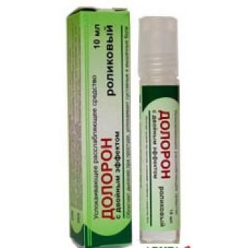 Долорон Ролик успокаивающий ( облегчает дыхание при простуде) 10гр.