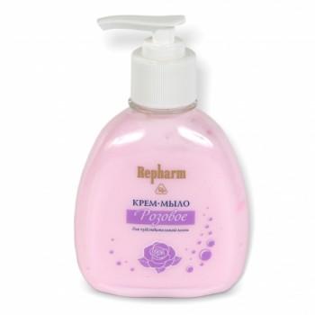 Repharm Крем-мыло Розовое для умывания для чувствительной кожи флакон 200г
