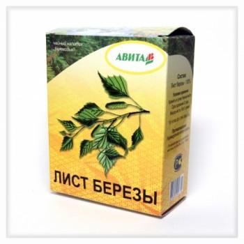 """Береза лист (от 5 штук) """"Авита"""" 50 г улучшает обмен веществ,выводит вредные вещества из организма"""