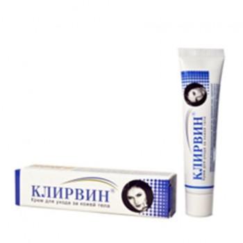Клирвин крем (пятна,шрамы на коже) 25 г (Корвет Фарма)