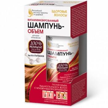 Здоровые волосы 150 мл Шампунь-объем витаминизированный для всех типов волос