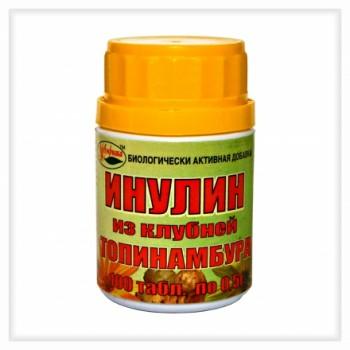 Инулин Топинамбур 100 таб х 0,5 г(из клубней топинамбура)