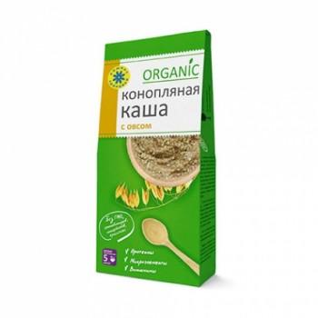 Каша Конопляная с овсом Organic 250г 15 порций