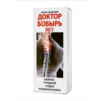 """Крем-бальзам """"Доктор Бобырь"""" №1, 75 мл, от боли в шейно-грудном отделе позвоночника"""