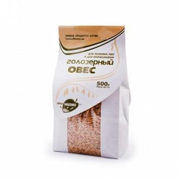 Зерно для проращивания Овес голозерный, 500 гр пачка