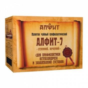 Алфит-7 напиток чайный (для профилактики остеохондроза и заболеваний суставов) 60 брикетов по 2,0г)