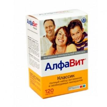 Алфавит Классик 60 таб.х0,54 г (витаминный комплекс)