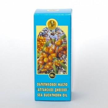 Масло Облепиховое пищевое (Алтайское Дивеево) 100 мл