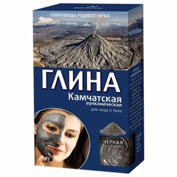 """Глина """"Черная"""" Камчатская вулканическая 100г"""
