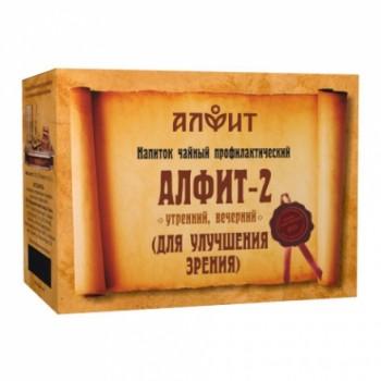 Алфит-2 напиток чайный (для улучшения зрения) 60 брикетов по 2,0г
