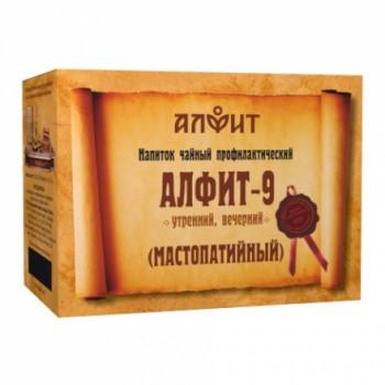 Алфит-9 напиток чайный (мастопатийный) 60 брикетов по 2,0г