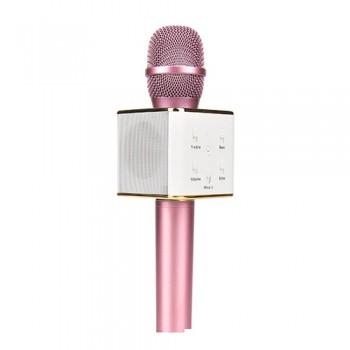 Беспроводной караоке микрофон со встроенной колонкой Tuxun Q7