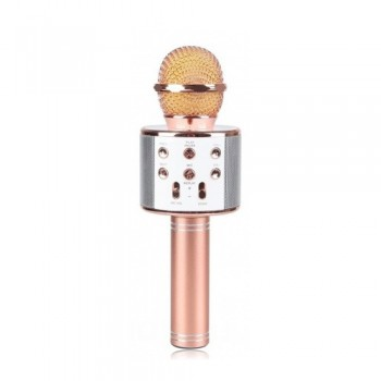 Беспроводной караоке микрофон со встроенным динамиком C-335