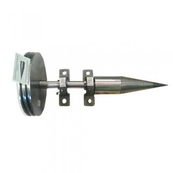 Конус для дровокола с валом, ремнями и ведомым шкивом