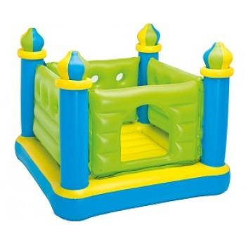 """Надувной батут Intex 48257 """"Крепость"""", 132х132х107см, для детей 3-6 лет"""