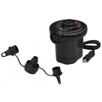 Насос электрический Intex 66626 Quick-Fill, 12В от прикуривателя, 3 насадки в комплекте