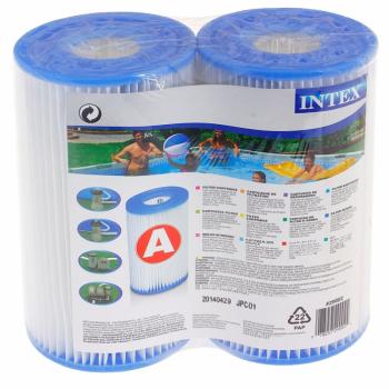 """Картридж """"А"""" Intex 29002 (Блок из 2 шт), для фильтр-насосов 28604, 28638, 28636 и хлоратора 28674"""