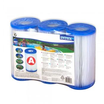 """Картридж """"А"""" Intex 29003 (Блок из 3 шт), для фильтр-насосов 28604, 28638, 28636 и хлоратора 28674"""