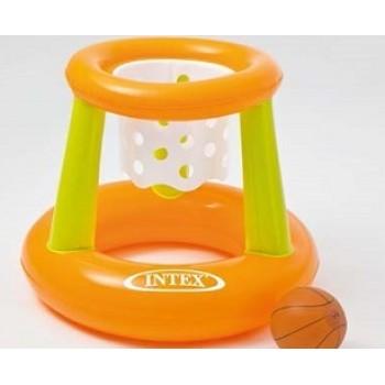 Надувной комплект Intex 58504 для игры в баскетбол 67х55см (мяч+корзина), для детей от 3 лет