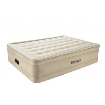 Надувная кровать BestWay Essence Fortech 69024 BW, 203х152х51см, встроенный электронасос