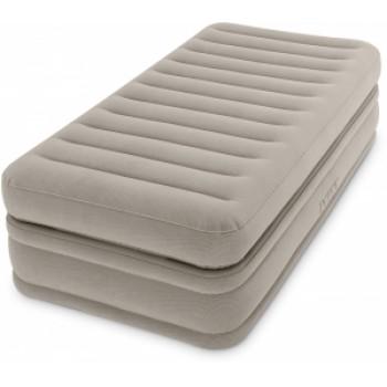 Надувная кровать Intex Prime Comfort Elevated Airbed 64444, 99х191х51см, встроенный насос 220V