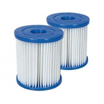 Картридж (тип I) BestWay 58093 BW, 8х9см, для фильтр-насосов 58145 и 58381 (комплект из 2 шт)