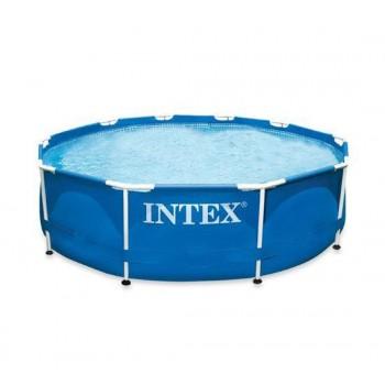 Каркасный бассейн Intex Metal Frame 28200, 305х76см, 4485л