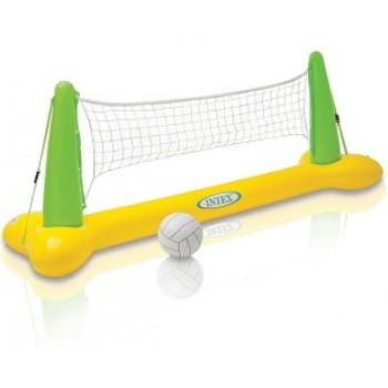 Надувной набор Intex 56508 для игры в волейбол на воде, 239х64х91см (+сетка и мяч), для детей от 6 лет