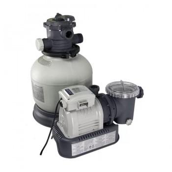 Песочный фильтр-насос Intex Krystal Clear 28646, 7,9 м3/ч, резервуар для песка 23кг