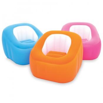 Надувное кресло BestWay Comfi Cube 75046 BW, 74х74х64 см
