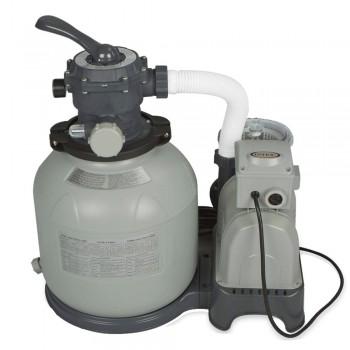 Песочный фильтр-насос Intex Krystal Clear 28648, 10,5 м3/ч, резервуар для песка 35кг