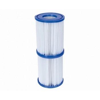 Картридж (тип II) BestWay 58094 BW, 10,6х13,6см, для фильтр-насосов 58117, 58148, 58383, 58386 (комплект из 2 шт)