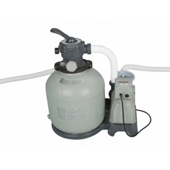 Песочный фильтр-насос Intex Krystal Clear 28652, 12,0 м3/ч, резервуар для песка 35кг